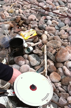 Backcountry cooking Backpacking Wood Stoves