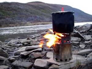 Bushbuddy Ultra Wood Backpacking Stove