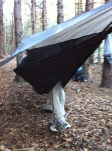 Hennessy Hammock on the Chignecto Trail