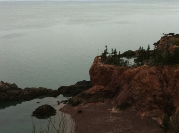 Floating Lake on Cape Chignecto Trail