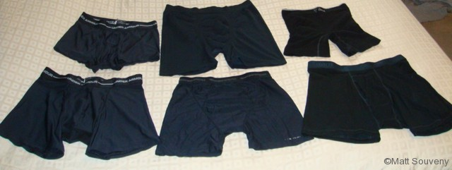 Top 5 Men's Backpacking Underwear