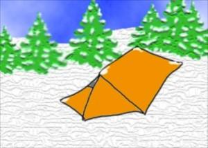NightHaven Tent Snow