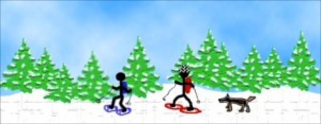 Snowshoeing Kejimkujik