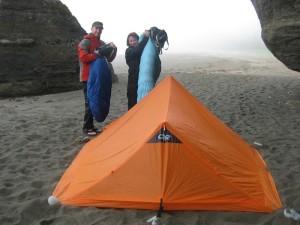 NightHaven Tarp Tent Beach