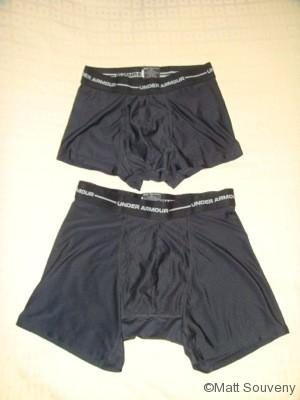 Boxerjock hiking backpacking underwear